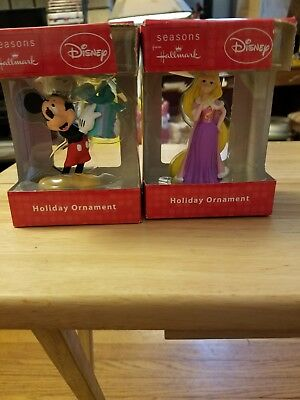 Disney hallmark ornament lot