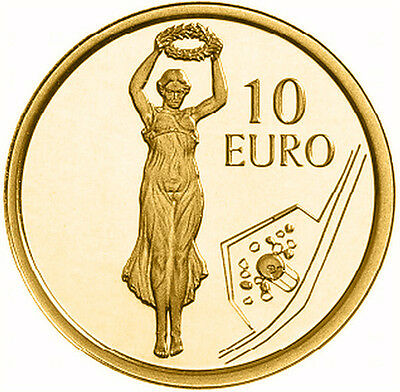 10 euros or gold Luxembourg 2013 Gelle Fra dans écrin luxe box set