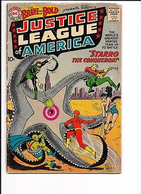 BRAVE AND THE BOLD # 28, 1.0, 1st JUSTICE LEAGUE OF AMERICA!