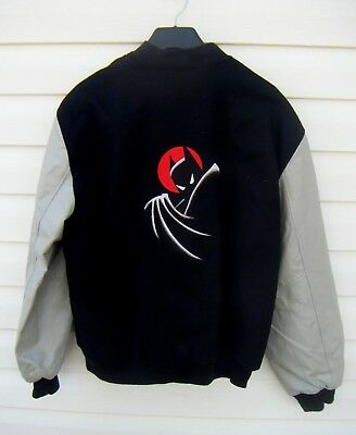 Rare Batman The Animated Series crew jacket XL never worn!