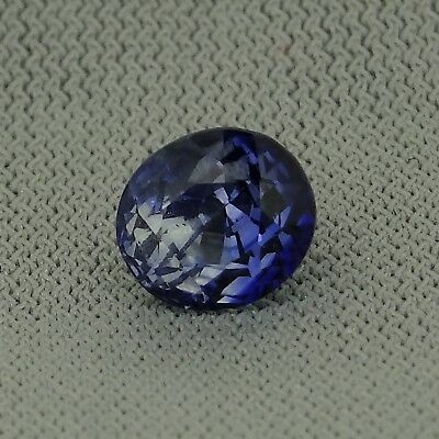 certified oval unheated natural blue sapphire 1.10ct Genuine Loose Gemstones