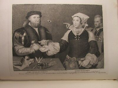 SCOTTISH GALLERY PORTRAITS ANTIQUE 18th CENTURY ENGRAVINGS JAMESON TAYMOUTH ETC