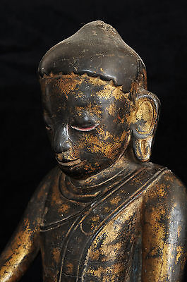 Antique Buddha, Burma (Myanmar) / Bouddha ancient Birmanie, 19th c., Asian art