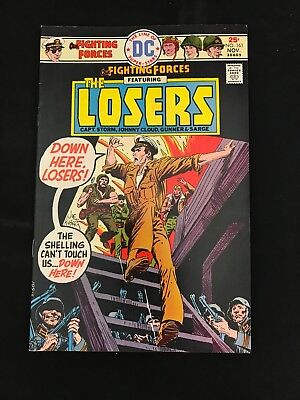 Our Fighting Forces #161 Vf Dc Comics Bronze Age War!