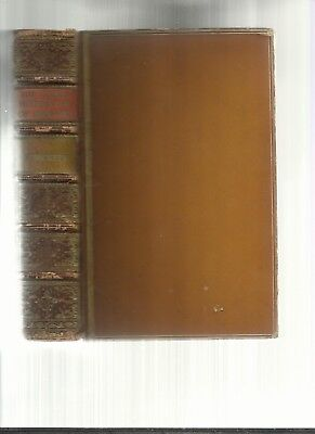 C.1870:COMIC HISTORY OF ENGLAND Vol.I&II, Leather,20 JOHN LEACH PLATES & 200Ill.