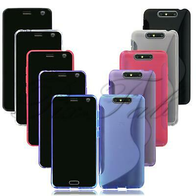 """For ZTE Blade V8 (5.2"""") New Genuine Black Gel Silicone Rubber Phone Case Cover"""