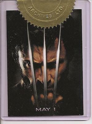 X-Men Origins Wolverine Movie Poster Case Topper card #259/600