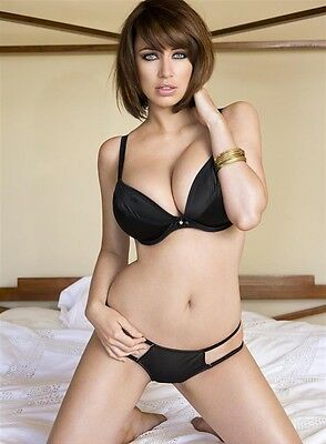 5 x Sophie Howard topless A4 photos