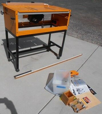 Triton Work Centre MKIII Table Saw & B&D 185mm Saw & Accessories