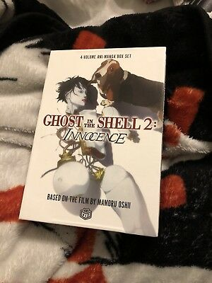 Ghost in the Shell 2 innocence 4-volume manga box set