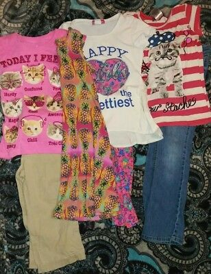 Girls Size 7 Spring Lot***4 Outfits!***