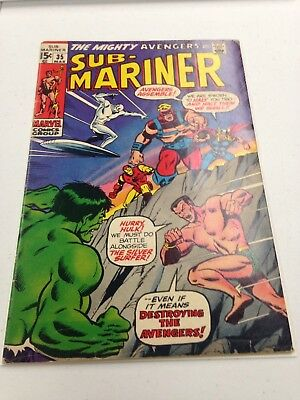 Sub Mariner 35 VG/FN prelude to the defenders