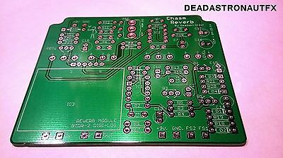 Build your own guitar effects pedal  'CHASM REVERB' PCB (Deadastronautfx)