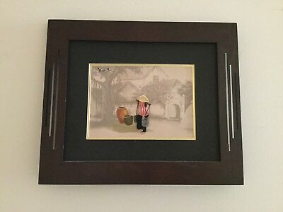 Framed Vietnamese Quilled Paper Craft