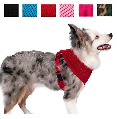 Pet Control Harness for Dog Cat Soft DOUBLE Mesh Walk Collar Safety Strap Vest