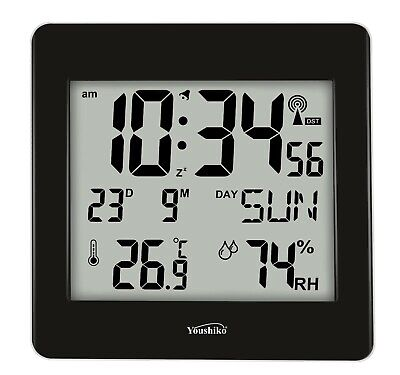 Jumbo LCD Radio Controlled MSF Digital Wall Clock ( UK & Ireland Version )