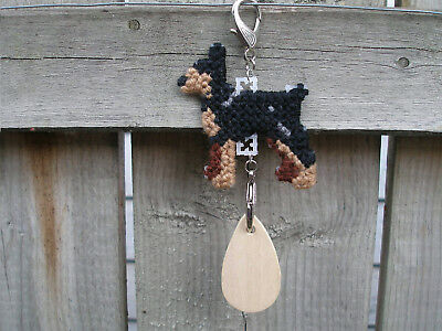 Miniature Pinscher #1 dog crate tag or hang anywhere handmade any day ornament