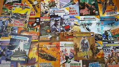 Commando Comics World War 2 Job Lot of 90