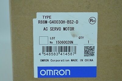 R88M-G40030H-Bs2-D - Omron  Ac Servo Motor  - New With Warranty