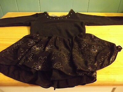 Size Small, Soft Black Danskin leotard with skirt!