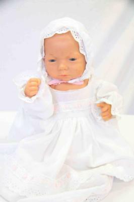 Vintage Anatomically Correct Baby Girl Doll By Effe Made In Italy #14058