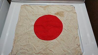 Old Antique Vintage Japan Japanese World War I II Military Battle Flag RARE