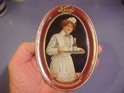 1900s King's Puremalt Beer TIP TRAY Panama Pacific Expostion