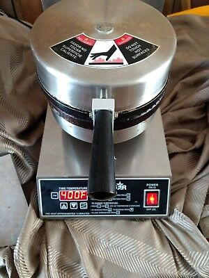 Star Commercial Waffle Cone Maker Baker w/ Cone Roller and Base