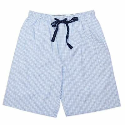 New Mens Coast To Coast Blue Cotton Pj Pant Sleep Boxer Short Pants Size Xl,xxl
