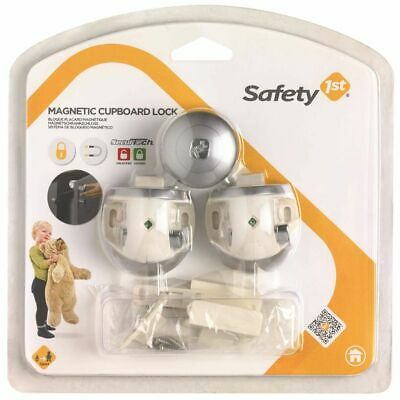 Safety 1st 2 pcs Magnetic Baby Safety Cupboard Cabinet Lock Guard 3202001600