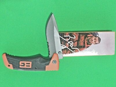 Gerber pocket knife Bear Grylls Scout with clip