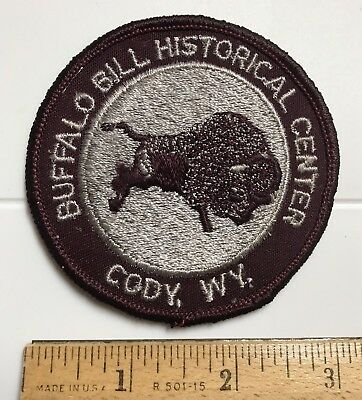 Buffalo Bill Historical Center Cody Wyoming WY Round Embroidered Patch