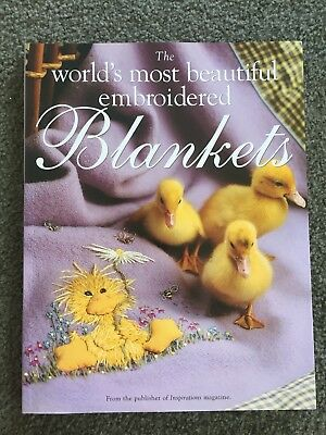 The world's most beautiful embroidered Blankets. Inspirations Magazine 2007