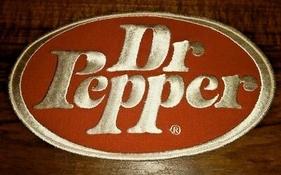 Mint 8 1/2'' Dr Pepper Patch From The 60`s
