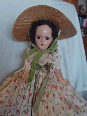 Madame Alexander Vintage Composition Scarlett O'hara Doll Gone With The Wind