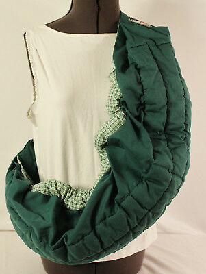 KOALA Baby Infant Carrier GREEN Adjustable Sling ONE SIZE EUC
