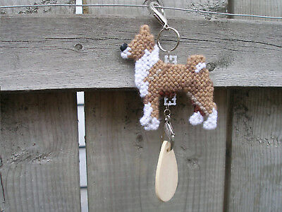 Basenji #3 dog crate tag or hang anywhere pet sign any day ornament needlepoint