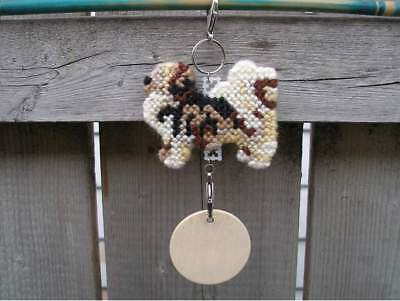 Tibetan Spaniel dog crate tag or hang anywhere handmade sign any day ornament