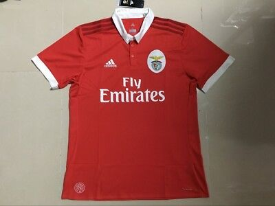 sports shoes 4dcbc 98d42 NEW BENFICA HOME Soccer Jersey 2017/2018 Men Adults