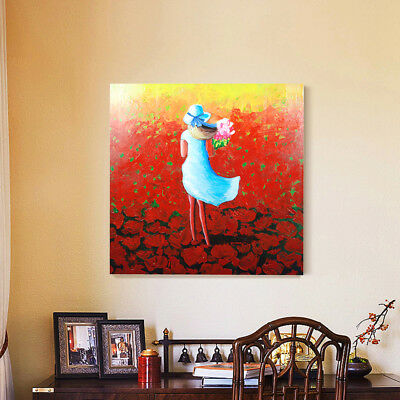 Framed Hand Painted Oil Painting 152CM Stretched Canvas Abstract Wall Home Deco