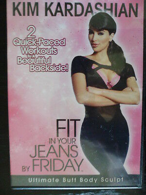 Kim Kardashian DVD - Fit In Your Jeans by Friday - Ultimate Butt Body Sculpt