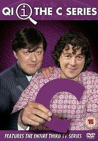 QI THE C SERIES SERIES 3 DVD Third Season 3rd UK Release New Sealed R2