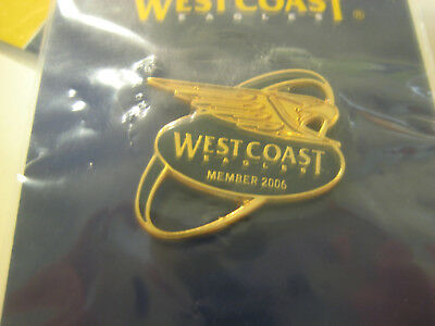 2006 WCE membership badge - the premiership year - new in package