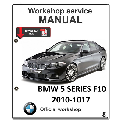 BMW 5 SERIES F10 OFFICIAL WORKSHOP MANUAL service repair, wirring,free shipping