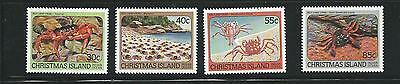 1984 Land Crabs set of 4 Stamps Complete MUH/MNH as Purchased at Post Office