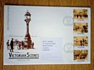c....GB....isle of Man.. Post Office Victorian Scenes.. First Day Cover ..1987