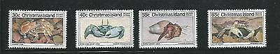 1985 Crabs set of 4 Stamps 1st Set  Complete MUH/MNH as Purchased at Post Office