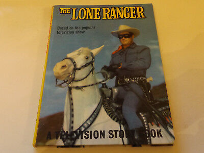 Lone Ranger,1961 Edition!,good For Age,great Hardback Book,57 Years Old,from Tv.