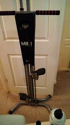 New MaxiClimber The Unisex Vertical Climbing Fitness System used