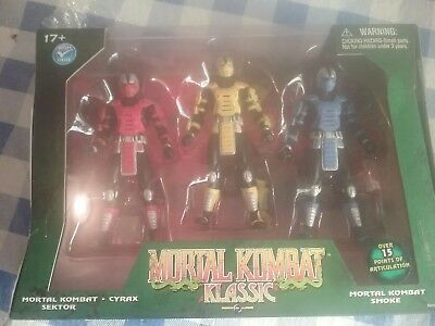Mortal Kombat Klassic Action figure set brand new